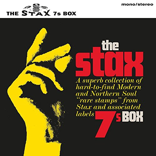 Cover Art THE STAX 7S BOX 1 - The Stax 7s Box' - limited-edition #vinyl box set release