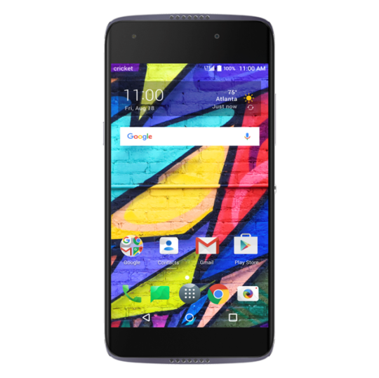 Cricket IDOL 5.Front  540x539 - Alcatel releasing Idol 5 Android phone and new #VR headset @ALCATEL1TOUCH @Cricketnation