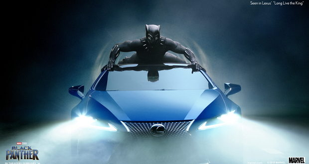 Lexus Black Panther 03 AF3F329E9C4194FDE773019B17C1E84B317EF580 620x330 - How Lexus Gave Black Panther A Ride Fit For A King @theblackpanther @lexus @marvel