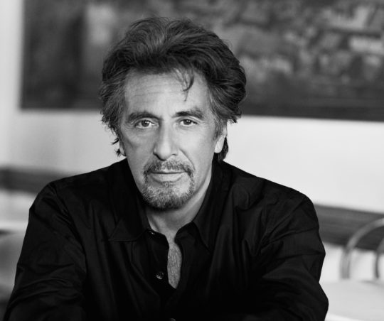 Al Pacino Headshot 540x452 - Steven Spielberg, Al Pacino, Jamie Foxx, Sarah Jessica Parker And More Announced As Part of Tribeca Film Festival @Tribeca @iamjamiefoxx #Tribeca2018