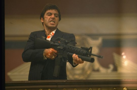 Scarface Still 3 ©2017 Universal Studios. All Rights Reserved. 540x356 - Steven Spielberg, Al Pacino, Jamie Foxx, Sarah Jessica Parker And More Announced As Part of Tribeca Film Festival @Tribeca @iamjamiefoxx #Tribeca2018