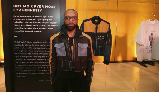 "Kerby x Pyer Moss 540x313 - Event Recap: A ""Major"" Premier by Hennessy @hennessyus @ayesuppose @nigelsylvester @KadirNelson @pyermoss #MarshallMajorTaylor"