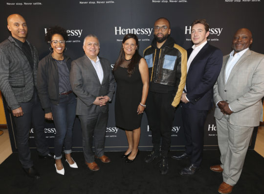 "MH Execs x Panelists 540x396 - Event Recap: A ""Major"" Premier by Hennessy @hennessyus @ayesuppose @nigelsylvester @KadirNelson @pyermoss #MarshallMajorTaylor"