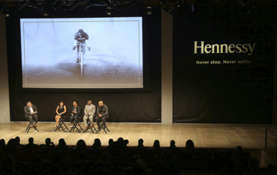 "Panel Discussion 540x342 - Event Recap: A ""Major"" Premier by Hennessy @hennessyus @ayesuppose @nigelsylvester @KadirNelson @pyermoss #MarshallMajorTaylor"
