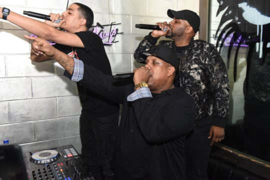 Rockwilder with Young Fellas 540x360 - Event Recap: EPMD performs at Tracklib's Global Launch Event @epmd @iAmErickSermon @PMDofEPMD @Tracklib