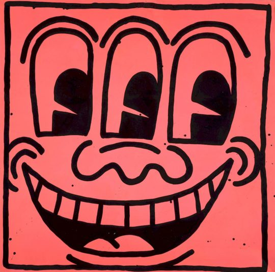 keith haring ohne titel 1981 c keith haring foundation.1200x0 1 540x536 - Keith Haring, The Alphabet exhibit March 16- June 2, 2018 at the @AlbertinaMuseum