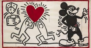 keith haring ohne titel 1982 c keith haring foundation.1200x0 300x160 - Keith Haring, The Alphabet exhibit March 16- June 2, 2018 at the @AlbertinaMuseum