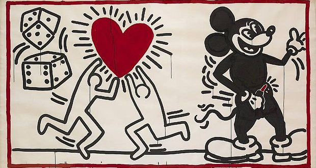 keith haring ohne titel 1982 c keith haring foundation.1200x0 620x330 - Keith Haring, The Alphabet exhibit March 16- June 2, 2018 at the @AlbertinaMuseum