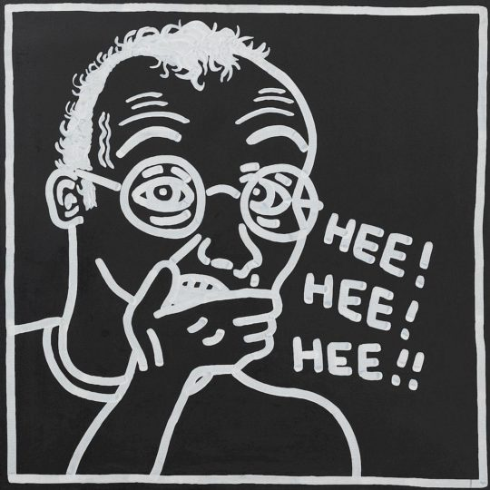 keith haring ohne titel self portrait 1985 c keith haring foundation.1200x0 540x540 - Keith Haring, The Alphabet exhibit March 16- June 2, 2018 at the @AlbertinaMuseum