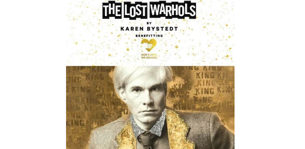 lw 620x304 - The Lost Warhols Exhibit by Karen Bystedt May 1-22, 2018 @karenbystedt @godslovenyc #AndyWarhol