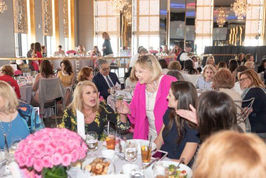 AWA 0738 Dottie Herman guests 540x361 - Event Recap: 64th annual Spirit of Achievement Awards honoring Linda Ronstadt, Penny Drue Baird, Dottie Herman, and Allen M. Spiegel, M.D @EinsteinMed @ronstadtlinda @JillMartin