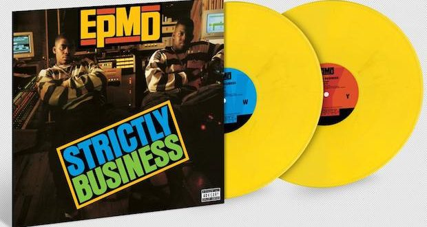 EPMD StrictlyBusiness ProductShot COLOR edited 620x330 - EPMD's 'Strictly Business' & 'Unfinished Business' Reissued As 30th Anniversary #Vinyl Edition by @urbanxlegends @epmd @PMDofEPMD @iAmErickSermon