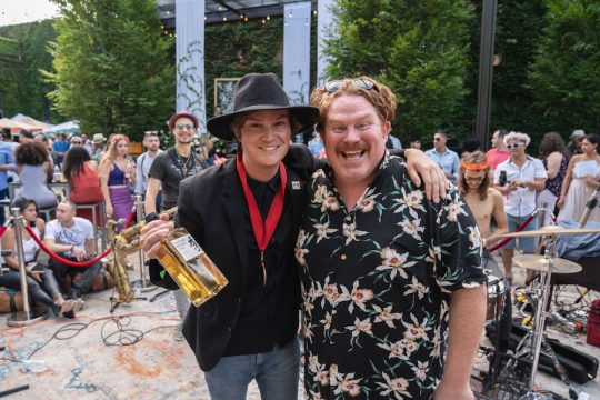 Colton Chorpenning and Casey Webb 540x360 - Event Recap: Secret Summer NYC 2018 @SecretsummerNYC @caseyscall #thefoundrylic @AssantePR #secretsummernyc