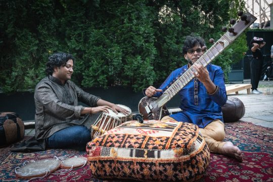 Sitar Tabla 540x360 - Event Recap: Secret Summer NYC 2018 @SecretsummerNYC @caseyscall #thefoundrylic @AssantePR #secretsummernyc