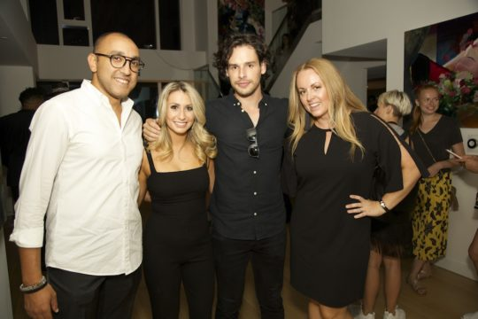 IMG 5061 540x360 - Event Recap: Fashion's Night IN 2: Official #NYFW kickoff @DouglasElliman @sotosake @AShineandCo #fashionsnightin #135west52nd #treffortshirts