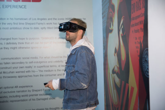559A1222 540x360 - Feature: DAMAGED App interview with Shepard Fairey and Jacob Koo of VRt Ventures by Jonn Nubian @ObeyGiant @VRtMuseums #virtualreality #shepardfairey #VRtVentures #DamagedApp