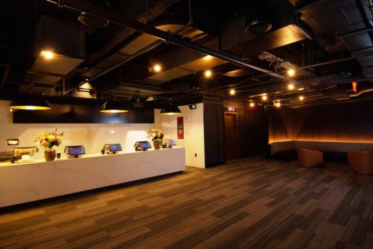 CMX CinÇBistro Entrance Ticketing Area 540x360 - Event Recap: CMX Cinemas Officially Launches Its First New York City Location @cmxcinemas @LawlorMedia #CMXtakesNYC #ExperienceCMX #CMXCineBistro #UES #uppereastside #nyc