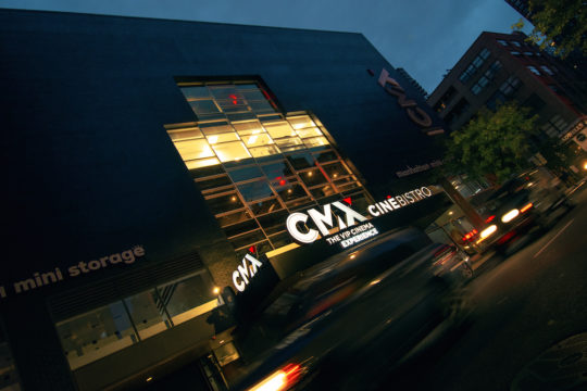 CMX CinÇbistro Front Entrance 540x360 - Event Recap: CMX Cinemas Officially Launches Its First New York City Location @cmxcinemas @LawlorMedia #CMXtakesNYC #ExperienceCMX #CMXCineBistro #UES #uppereastside #nyc