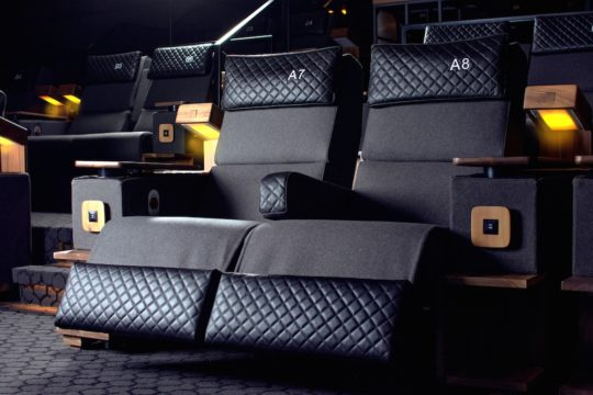 CMX CinÇbistro Oversized Recliners 540x360 - Event Recap: CMX Cinemas Officially Launches Its First New York City Location @cmxcinemas @LawlorMedia #CMXtakesNYC #ExperienceCMX #CMXCineBistro #UES #uppereastside #nyc