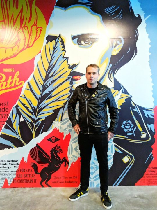 IMG 20181016 185235 01 540x720 - Feature: DAMAGED App interview with Shepard Fairey and Jacob Koo of VRt Ventures by Jonn Nubian @ObeyGiant @VRtMuseums #virtualreality #shepardfairey #VRtVentures #DamagedApp