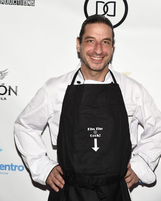 Chef for the Show Dinner With Dani Mike Greco 540x674 - Event Recap: Dinner With Dani Launch Party @akaDaniDaniels @brandi_love @DOOMS_Whiskey @TrophyComic @jeffleach @PrimeVideo @RealJonLaster @Amazon #DinnerWithDani