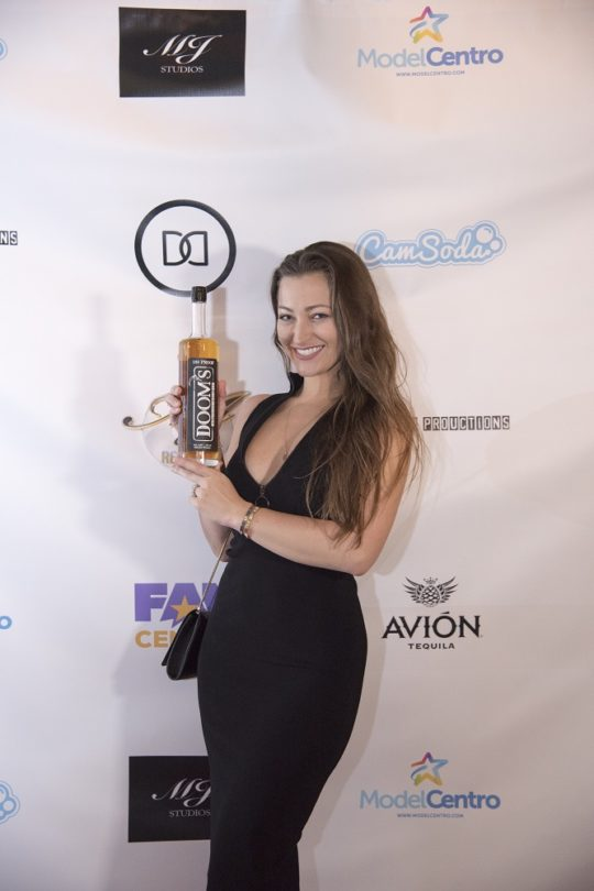 Dani Daniels Favorite Dooms Whiskey 540x810 - Event Recap: Dinner With Dani Launch Party @akaDaniDaniels @brandi_love @DOOMS_Whiskey @TrophyComic @jeffleach @PrimeVideo @RealJonLaster @Amazon #DinnerWithDani