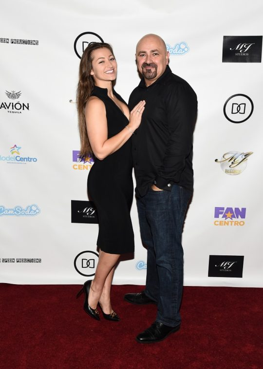 Executive Producers Dani Daniels and Her Husband Vic Cipolla 540x756 - Event Recap: Dinner With Dani Launch Party @akaDaniDaniels @brandi_love @DOOMS_Whiskey @TrophyComic @jeffleach @PrimeVideo @RealJonLaster @Amazon #DinnerWithDani