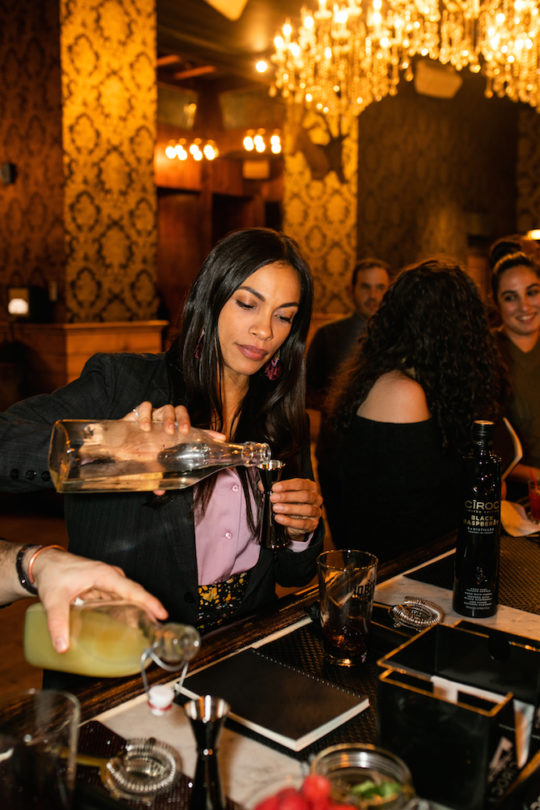 Photo 74 540x810 - Event Recap: School of Mixology featuring CÎROC, CÎROC VS and @DeLeonTequila with special guest @RosarioDawson @ciroc @TheAinsworth