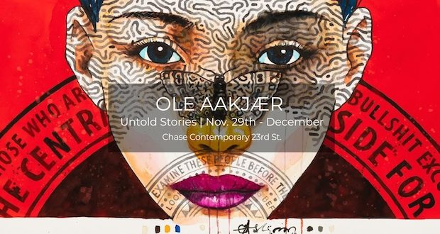 oleh 620x330 - Ole Aakjaer Untold Stories exhibition November 29 - December 31, 2018 #ChaseContemporary #OleAakjaer @workhousepr