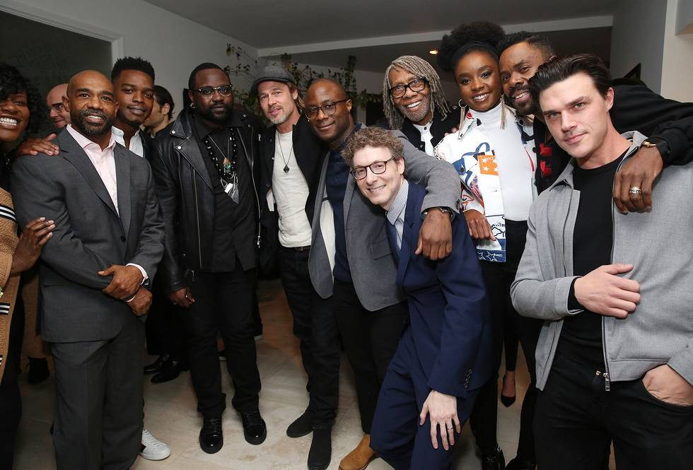 BR015390 - Event Recap: Brad Pitt Hosts Special Screenings of IF BEALE STREET COULD TALK @BarryJenkins @BealeStreet @AnnapurnaPics @RealChalamet  @realstephj #bradpitt