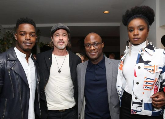 BR015399 540x390 - Event Recap: Brad Pitt Hosts Special Screenings of IF BEALE STREET COULD TALK @BarryJenkins @BealeStreet @AnnapurnaPics @RealChalamet  @realstephj #bradpitt