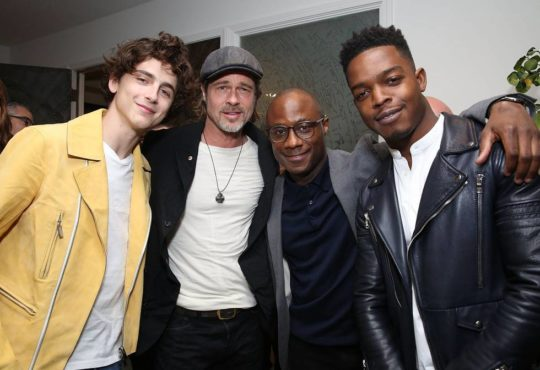 BR015431 540x370 - Event Recap: Brad Pitt Hosts Special Screenings of IF BEALE STREET COULD TALK @BarryJenkins @BealeStreet @AnnapurnaPics @RealChalamet  @realstephj #bradpitt