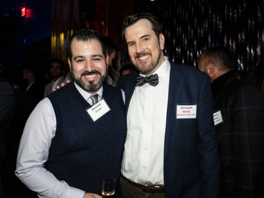 Kenneth Walsh and Partner 540x405 - Event Recap: Metrosource People We Love Gala @MetrosourceMag @TheTinaBurner @donlemon @mickeymusto @48loungenyc @VisitIsrael #PeopleWeLove event!  #GayNYC @ILoveGayNYC