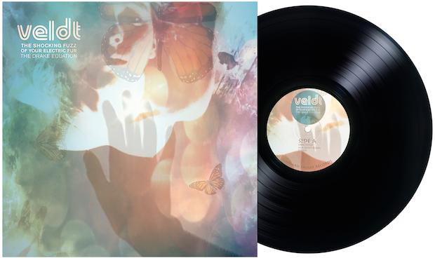 Veldt front Mock Up 1024x1024@2x - #VinylBase: The Veldt - The Shocking Fuzz of Your Electric Fur: The Drake Equation  @VeldtThe @littlecloudrec1