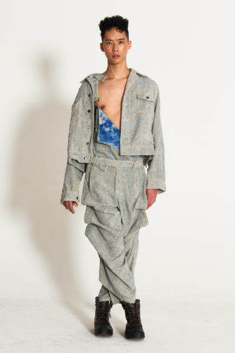 look14 334x500 - KA WA KEY FW19 Collection- Cowboy Who Cried Wasabi Tears #kawakey @fashionweek #NYFW #FW19