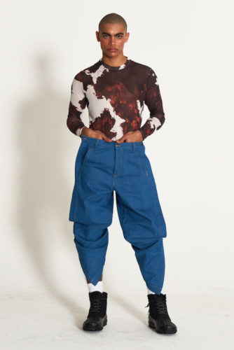 look4 334x500 - KA WA KEY FW19 Collection- Cowboy Who Cried Wasabi Tears #kawakey @fashionweek #NYFW #FW19