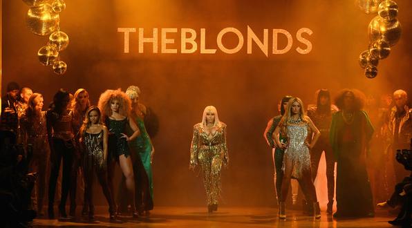 unnamed 54 596x330 - The Blonds FW19 @theblondsny @davidblond @phillipeblond @lilkim @themisshapes @lionbabe @karrueche @ClermontTwins #NYFW