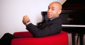 186 Aaron Diehl by JohnAbbott 300x160 -  Aaron Diehl Trio Virtuoso at Play at Baruch Performing Arts Center @aarondiehl @BaruchPAC