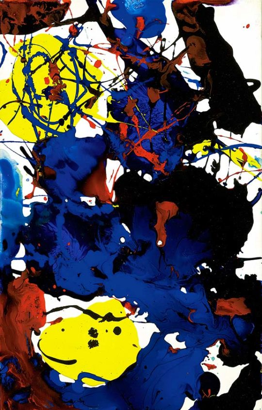 sfp94131 fafra940131 540x845 - American Abstract Expressionist Sam Francis Exhibition April 11-April 30, 2019 Martin Lawrence Galleries @TweetMLG #SamFrancis
