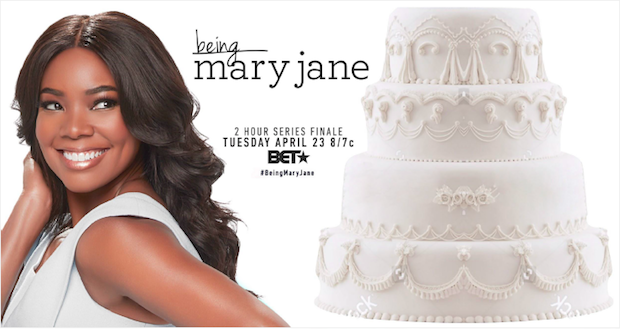 BMJ Billboard Image 620x329 - Being Mary Jane celebrates series finale with #wedding cake billboard created by Ayesha Curry  @BET @itsgabrielleu @ayeshacurry #BeingMaryJane