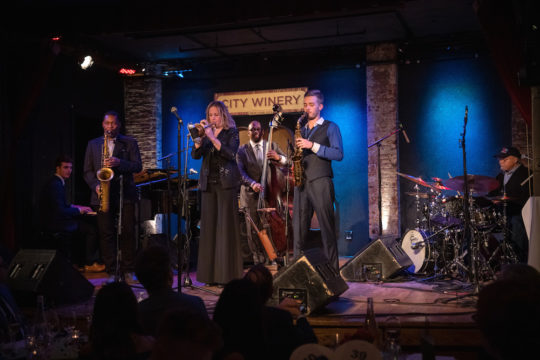 Caelan Cardello Ravi Coltrane Ingrid Jensen Christian McBride Julian Lee Jimmy Cobb Neil Grabowsky Through The Lens Studios 1 540x360 - Event Recap: Jazz House Kids 2019 Spring Gala @jazzhousekids @mcbridesworld @ledisi @LesterHoltNBC @CityWineryNYC