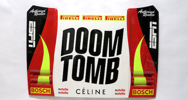 DOOM 01 620x330 - DOOM TOMB exhibition April 27-28, 2019 by David Gwyther aka #DeathSprayCustom @CCCManhattan
