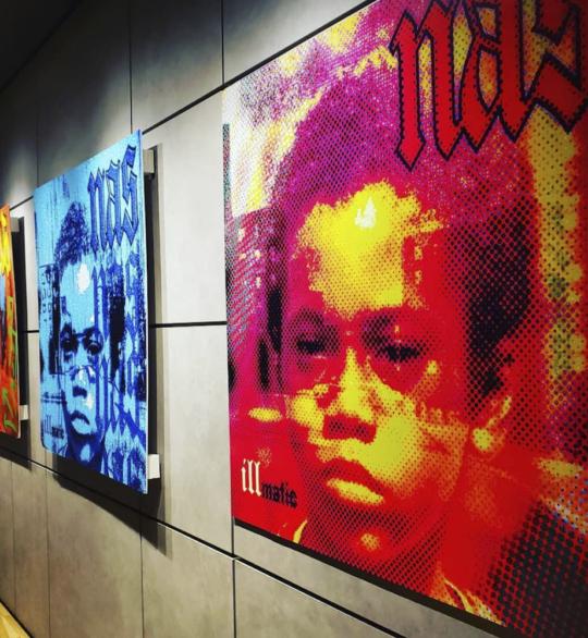 Screen Shot 2019 04 19 at 2.36.39 PM 540x586 - Nas presents Illmatic XXV: Memory Lane in NYC pop-up in honor of album's 25th anniversary @nas @sonysquarenyc @HennessyUS #illmaticxxv