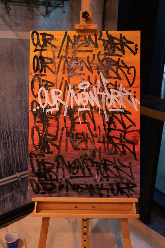 158 DSC02477 Art 1 540x810 - Event Recap: Pernod Ricard Art Battle @ournewyorkvodka @PernodricardUSA @NapkinKilla