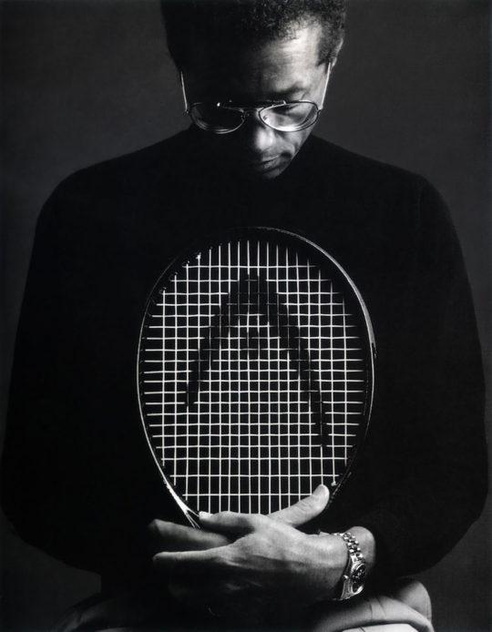 Arthur Ashe tennis legends.jpg 540x694 - Salesforce & Tribeca Film Festival Present: Make Change: Storytelling As A Platform For Change @RobinRoberts @ImAngelaBassett @SalesForce @bradleylbar @tribeca #Tribeca2019