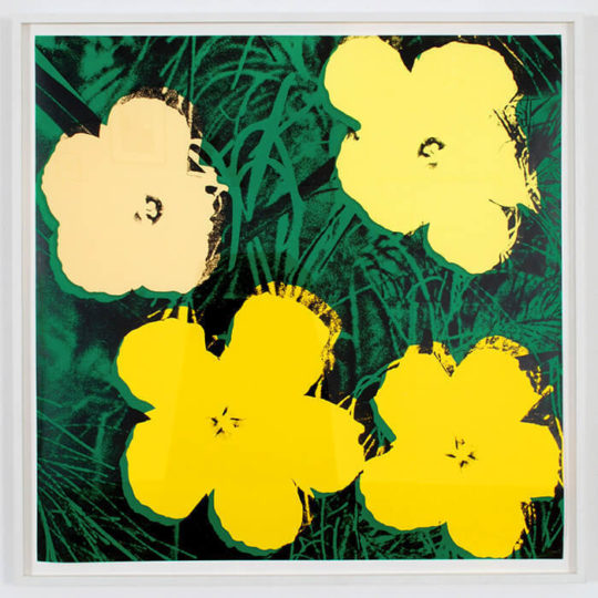 Rudolf Budja Gallery Andy Warhol Flowers II.72 540x540 - 5th Edition of Art New York May 2- May 5, 2019 at Pier 94 @artmiamifairs #ArtNewYork