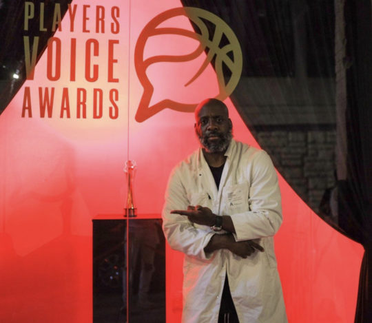 A9EA5E8C F4C5 4BC2 827B A0CDFFA8B900 540x469 - NBPA Presents: Players' Voice Awards Art Exhibit August 22-September 7, 2019 at Compound Gallery @TheNBPA @thecompound__ @Iam_SetFree