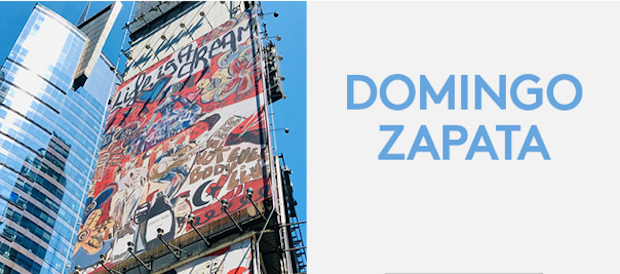 Portable Network Graphics image 620x274 - Feature: Domingo Zapata completes of Largest Mural in NYC @domingozapata @IBEROSTAR_ENG #domingozapata