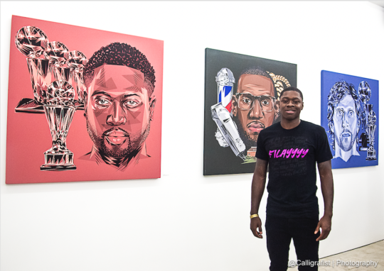 Screen Shot 2019 08 22 at 11.30.22 PM 540x382 - NBPA Presents: Players' Voice Awards Art Exhibit August 22-September 7, 2019 at Compound Gallery @TheNBPA @thecompound__ @Iam_SetFree