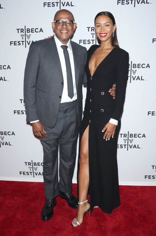 Forest Whitaker and Ilfenesh Hadera at World Premiere of Epixs Godfather of Harlem at Tribeca TV Festival 2019 540x812 - Opening Night of the #TRIBECATVFESTIVAL Kicks Off With James Spader, Whoopi Goldberg, Forest Whitaker, Ilfenesh Haderaand more @IlfeneshHadera @WhoopiGoldberg @ForestWhitaker @tribeca